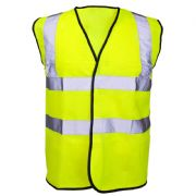 Hi-Vis Full Spec Waist Coat - Yellow